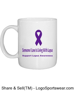 Someone I Love Is Living With Lupus Mug Design Zoom